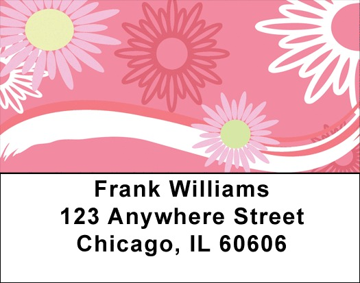 Sweeping Daisies Address Labels
