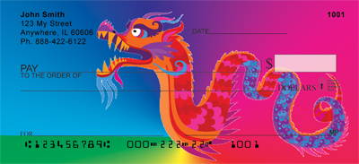 Magic Dragons Personal Checks