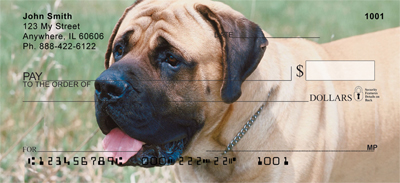 Mastiff Personal Checks