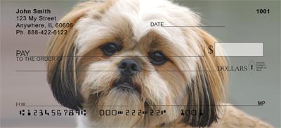 Llasa Apso Puppy Personal Checks