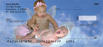 Angel Babies Personal Checks