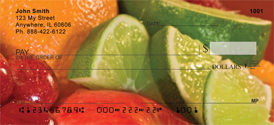 Luscious Fruits Personal Checks