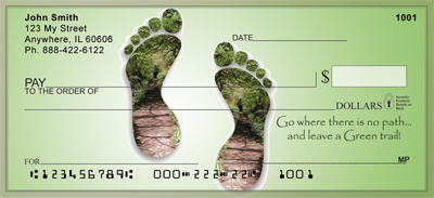 Leave A Green Trail Personal Checks