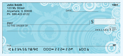 Cool Blues Personal Checks