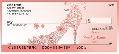 Peachy Keen Days Personal Checks