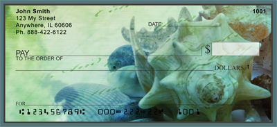 Nautical Message Personal Checks