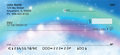 Rainbow Moments Personal Checks