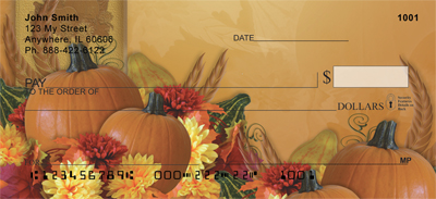 Fall Celebrations Personal Checks