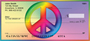 Rainbows For Peace Personal Checks