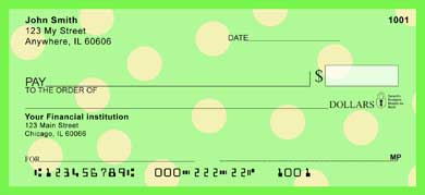 Dots! Personal Checks