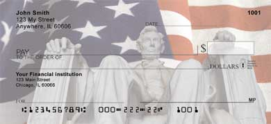 Lincoln Memorial Personal Checks
