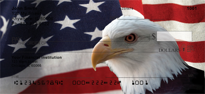 Soaring Over America Top Tear Personal Checks