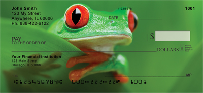 More Tree Frogs Personal Checks