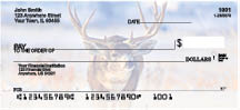 Big Horned Buck Deer Top Tear Personal Checks