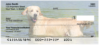 Dogs and Puppies Personal Checks