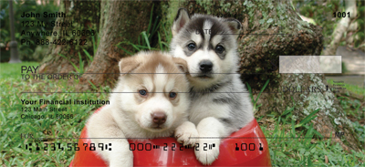 Sled Dogs Personal Checks