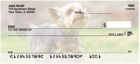 Yorkies Personal Checks