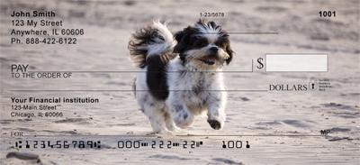 Shih Tzu Personal Checks