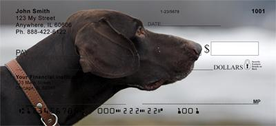Grand German Shorthair Pointer Personal Checks