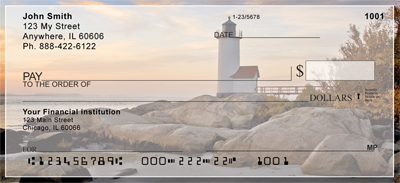 Lighthouses Scenic Views Personal Checks