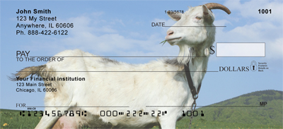 Goat Profiles Personal Checks