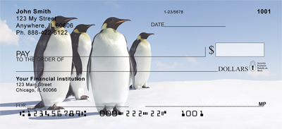 Penguins Personal Checks