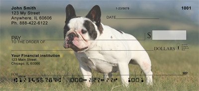 French Bulldog Personal Checks