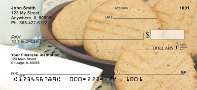 Milk and Cookies Personal Checks