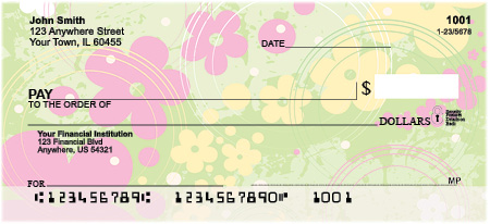 Aloha Flowers Top Tear Personal Checks