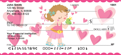 Young Girl Princess Personal Checks