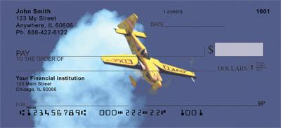 High Flying Stunt Plane