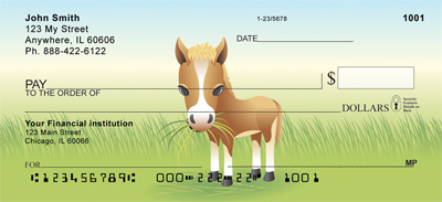 More Baby Animals Personal Checks