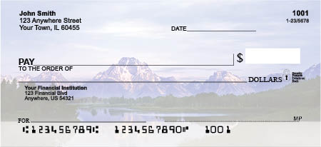Mountain Views Personal Checks