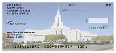 Temple all in One Personal Checks