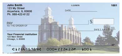 Logan Temple Personal Checks