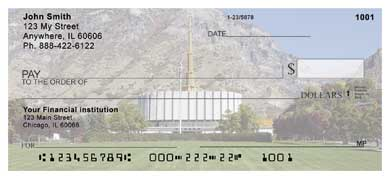 Provo Temple Personal Checks