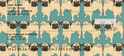 Pug Wallpaper Checks