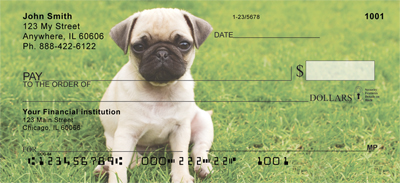 Pugs At The Park Personal Checks