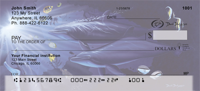 Ocean Personal Checks by David Dunleavy