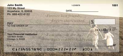 Sisters Personal Checks by Sweet Intentions