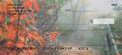 Dreary Fall Days Personal Checks