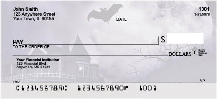 Haunted Houses Personal Checks