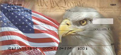American Eagle Pride Personal Checks