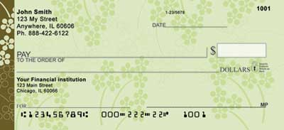 Soft Vines Personal Checks