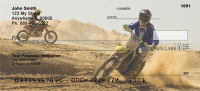 Motocross Cycles Personal Checks