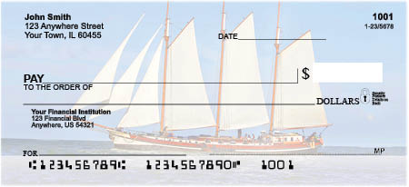 Clipper Ships Personal Checks