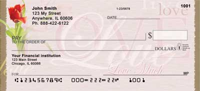Live, Laugh, Love Personal Checks