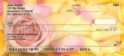 Roses Personal Checks