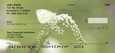 Butterflies in Nature Personal Checks