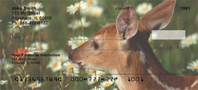 Baby Deer Personal Checks